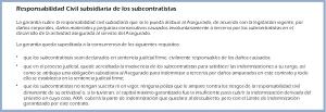 rc subsidiaria de subcontratistas